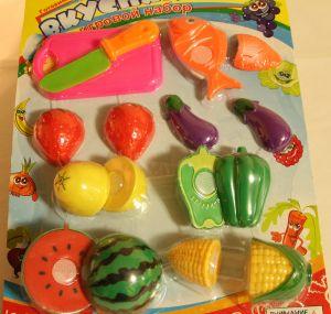 ! набор фруктов рез 8пр, ячейка: 76