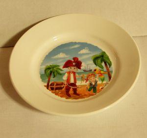 ! тарелка мелк пираты 175мм, ячейка: 91