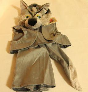 ! волчонок маска жилет шорты р 98-110  3-5л, ячейка: 94