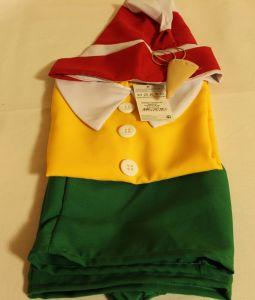 ! буратино рубашка шорты колпак нос 116-122, ячейка: 95