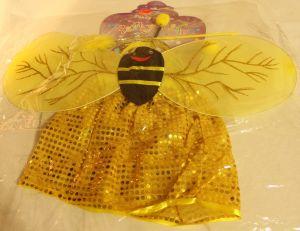 ! костюм пчелка крылья юбка ободок палочка 4-6л, ячейка: 95