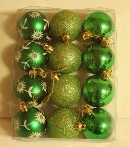 ! набор зел шаров 12шт, ячейка: 96