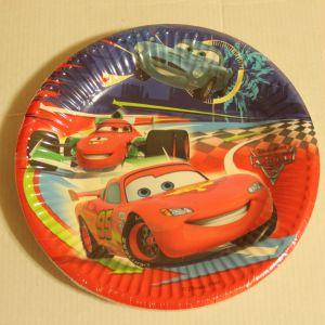 ! тарелка бум тачки 20см 10шт, ячейка: 98