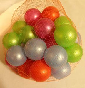 ! шарики пласт 30шт, ячейка: 100
