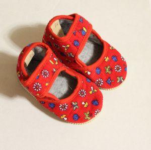 ! детс тапочки-туфельки крас размер 110, ячейка: 141