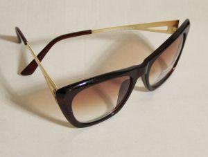 ! женс очки солнцезащ корич 04, ячейка: 143