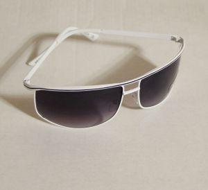 ! мужс очки солнцезащ бел, ячейка: 143