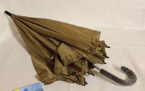 ! зонт подрост полуавтомат корич 8спиц длина 68см, ячейка: 144