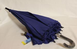 ! зонт подрост полуавтомат син 8спиц длина 68см, ячейка: 144