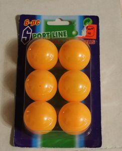 ! мяч для тенн оран 6шт, ячейка: 72
