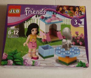 ! друзья девочка+белочка, ячейка: 63