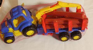 ! трактор лесовоз с прицепом, ячейка: 34