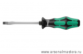 Отвертка шлицевая WERA Kraftform Plus 334 SK, 0.8x4.0x90 мм, 007671