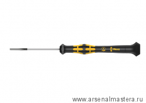 Шлицевая отвертка Kraftform Micro WERA 1578 A, 0.40x2.0x60 мм, 030103