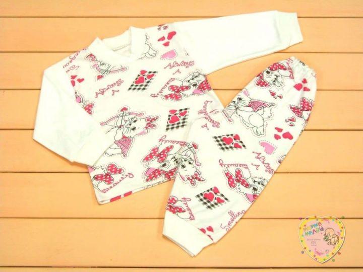 Пижама для девочки Мамин Малыш C-PJ023-ITpk / 01750