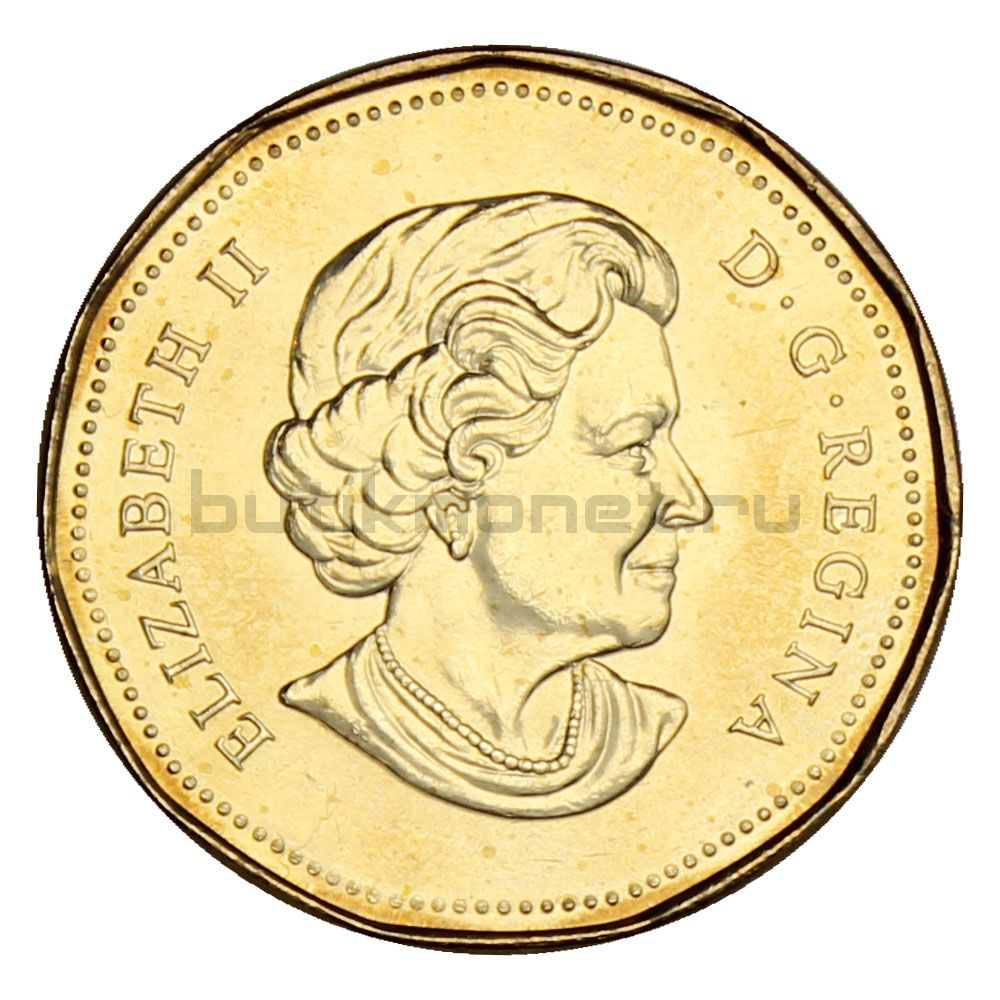 1 доллар 2006 Канада XX зимние Олимпийские Игры в Турине