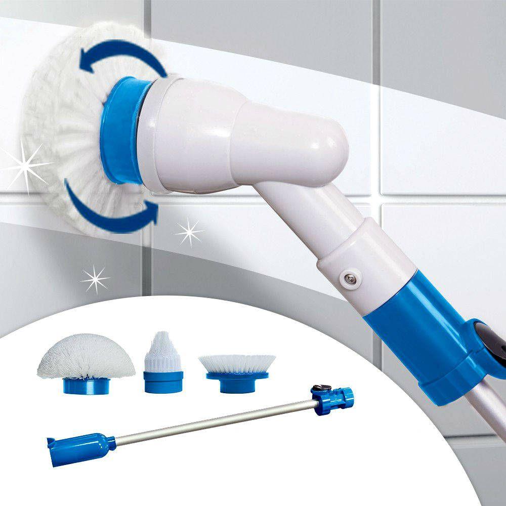 Аккумуляторная телескопическая электрощётка Суперуборщик Super Cleaner
