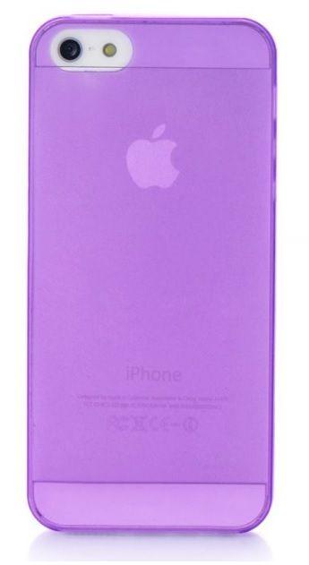 Чехол для сотового телефона Gurdini для iPhone 5/5S/SE, фиолетовый
