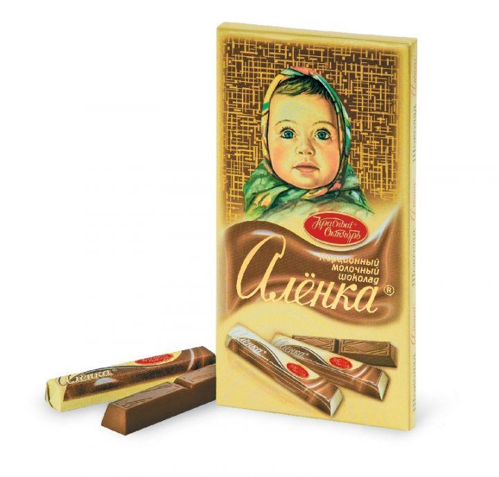 Шоколад Аленка в стиках 100г Красный Октябрь