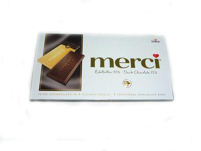 Шоколад Мерси горький 72% 100г