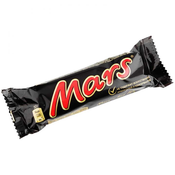 Батончик Марс молочный 50г