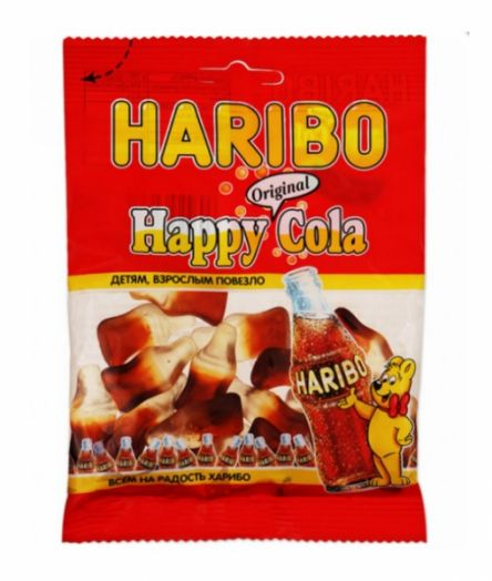 Мармелад Хэппи Кола 70г Харибо