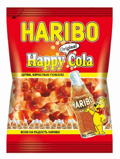 Мармелад Хэппи Кола 140г Харибо