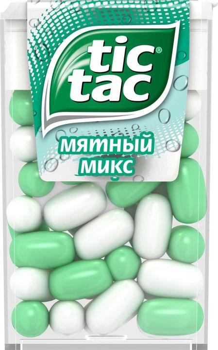 Драже Тик-Так мятный Микс 16г Т-24 Ферреро