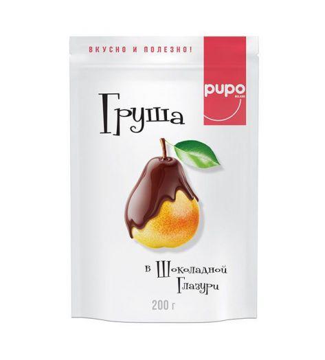 Груша PUPO в шоколадной глазури 200г