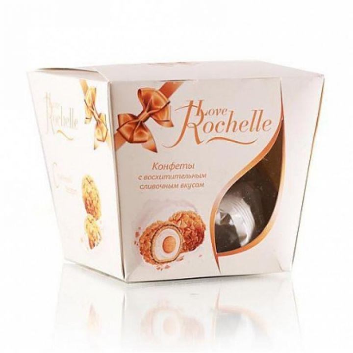 Конфеты Лав Рошель слив.вкус в вафельной стружке 120г Черногорск