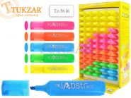 Текстмаркер, 5 цветов в ассортименте, в дисплее (арт. TZ 5616)