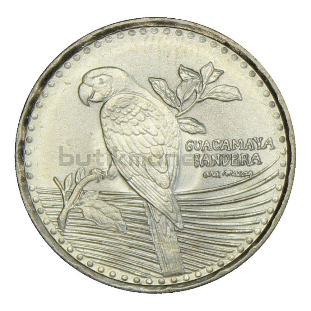200 песо 2012 Колумбия Красный Ара