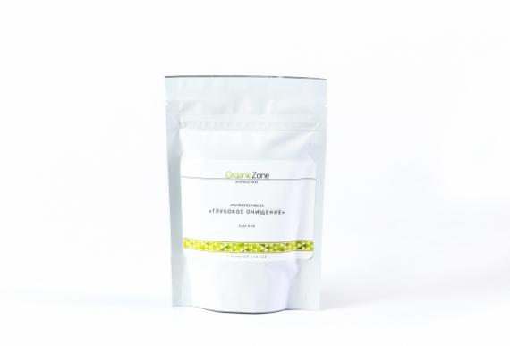 Альгинатная маска «Глубокое очищение» с зеленой глиной