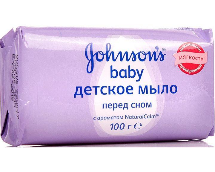 Мыло Джонсон Беби 100г перед сном