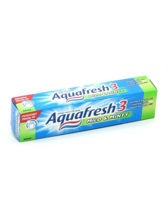 Зуб. паста Aquafresh-3 зеленая 50 мл