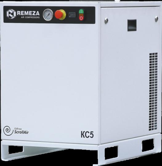 Спиральный безмасляный компрессор КС3-8(10)-270