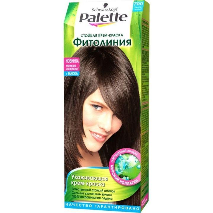 Краска д/волос PALETTE Фитолиния №700 Каштановый