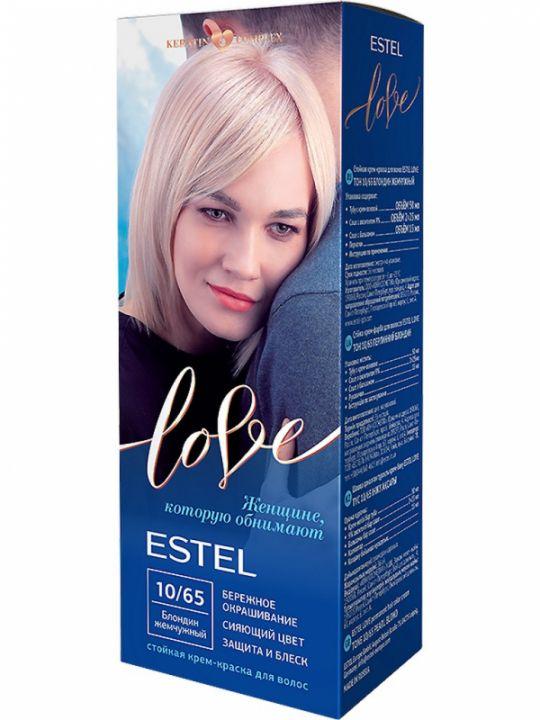 Крем-краска д/волос Эстель LOVE 10.65 жемчужный блондин /в4692