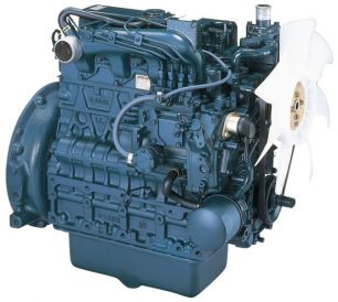 Дизельный двигатель Kubota V2403-M