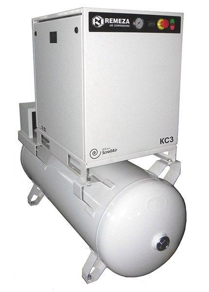 Спиральный безмасляный компрессор КС7-8(10)-270
