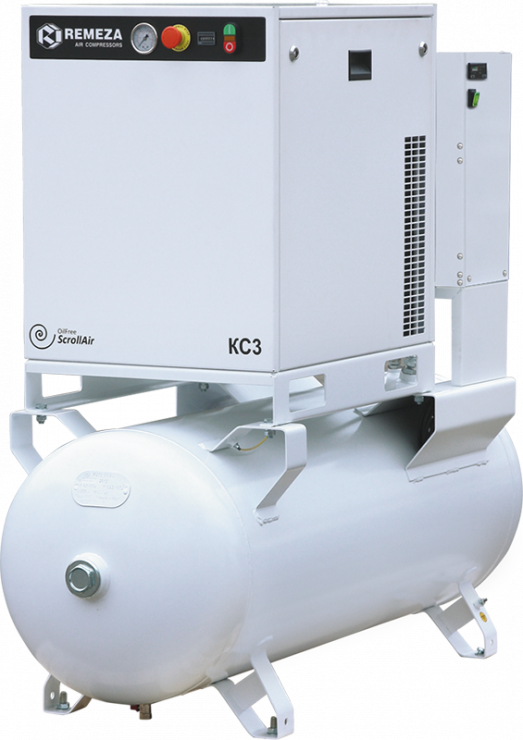 Спиральный безмасляный компрессор КС7-8(10)-270Д