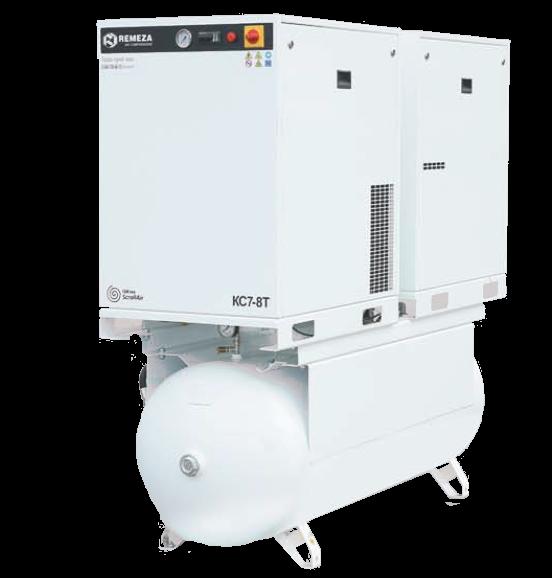 Спиральный безмасляный компрессор КС7-8(10)-500Т