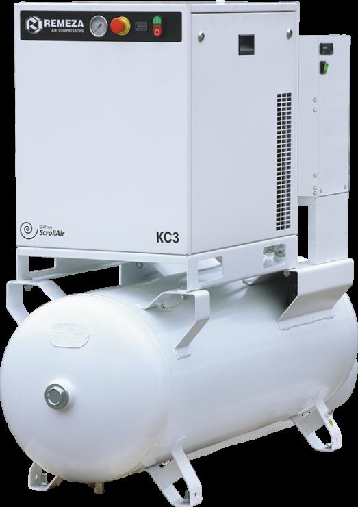 Спиральный безмасляный компрессор КС10-8(10)-270Д
