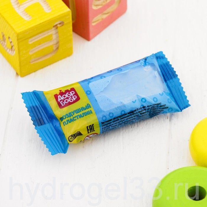 Воздушный  пластилин 45 мл голубой