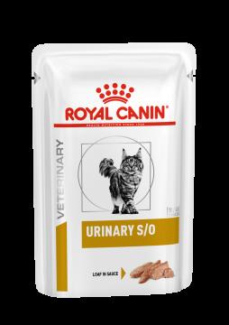 Роял Канин Уринари С/О для кошек паштет (Urinary S/O Feline) 85г.