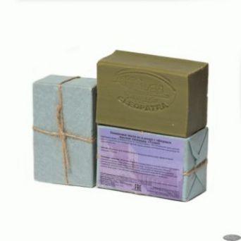 Алеппское  Оливковое мыло с эфирным маслом тюльпана Тулип.150 гр
