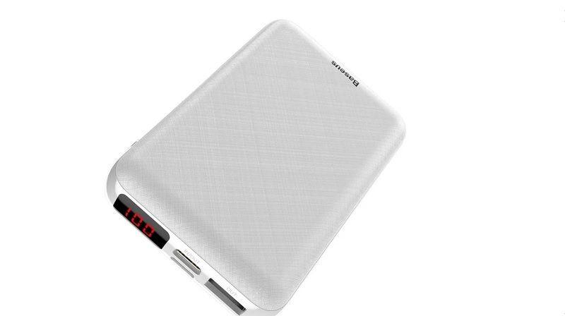 Быстрое Зарядное Устройство Baseus Mini S Digital Display Powerbank 10000mAh PD Edition Белый