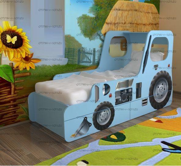 Кровать Трактор