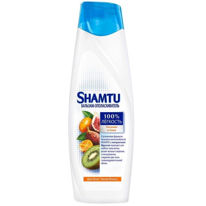Бальзам SHAMTU 360 мл Питание и сила с экстрактами фруктов