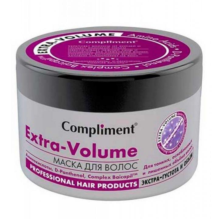 Маска д/волос Compliment 500мл Extra Volume D-panthenol с аминокислотами